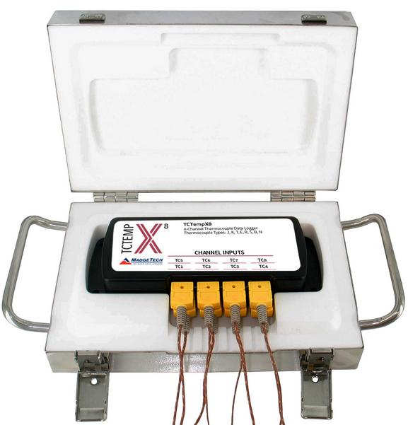 Thermo Vault X 4 kênh đo và 8 kênh đo nhiệt độ